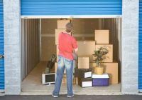 List of things that you can keep in a storage unit