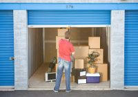 What is the purpose of using self-storage units?