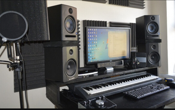 Equipment required for a recording studio